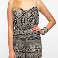 Urban Outfitters - Staring At Stars Animal Print Romper
