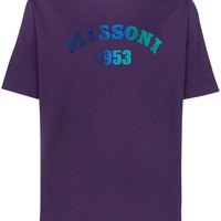 Purple Logo T-Shirt by Missoni