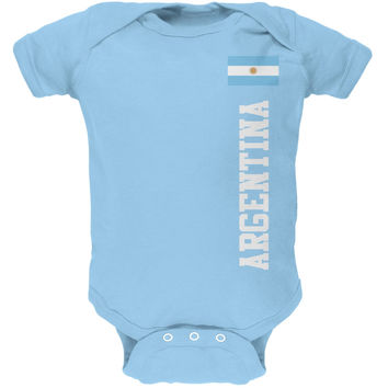 World Cup Argentina Blue Baby One Piece