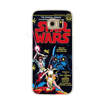 Star Wars Phone Back Cover Case for Samsung Galaxy S3 S4 S5 mini S6 S7 edge