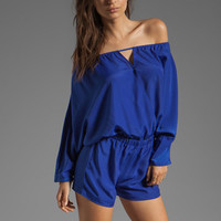 BLAQUE LABEL Long Sleeve Romper in Blue from REVOLVEclothing.com
