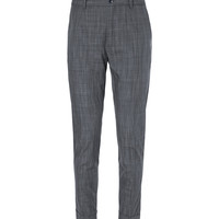 Dolce & Gabbana - Tapered Check Cotton Trousers | MR PORTER