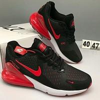 Samplefine2 NIKE AIR MAX 270 2018 new breathable casual sports cushion running shoes F-CSXY