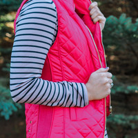 Red Licorice Vest