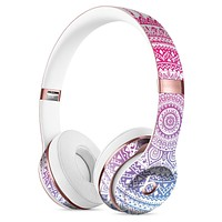 Ethnic Indian Tie-Dye Circle Full-Body Skin Kit for the Beats by Dre Solo 3 Wireless Headphones