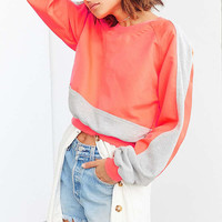 Without Walls Catie Color Block Crew-Neck Sweatshirt | Urban Outfitters