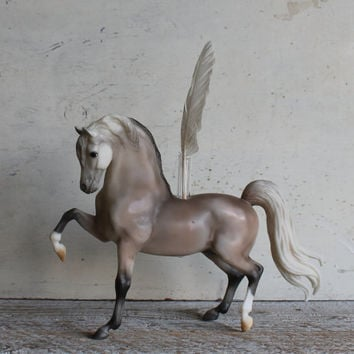 Breyer Horse Vase or Planter, Equestrian Geekery for Your Desk, Traditional Size, Sherman Morgan
