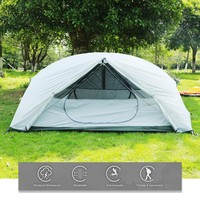 1-2 Person Windbreak Camping Tent Layer Waterproof Pop Up Open Anti UV Tourist Tents For Outdoor Hiking Beach Travel Tienda 2018