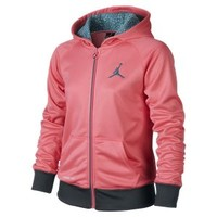The Jordan Therma-FIT Full-Zip Girls' Hoodie.