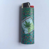 Sack of herb custom BIC lighter