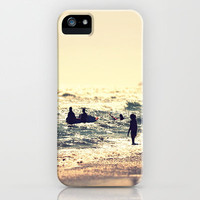 Surf into the Sunset iPhone Case by SSC Photography