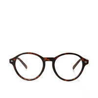 Round Tortoise Readers Brown One