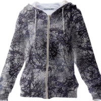 Nature Collage Print Hoodie created by dflcprints | Print All Over Me