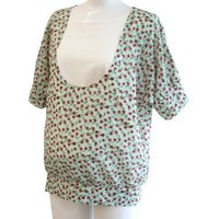 Sweet Mommy Floral Dolman Maternity and Nursing Tunic $20.00