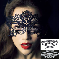 New Catwoman Fashion Black Cutout Mask Lace Sexy Prom Party Halloween Masquerade Dance Mask SV003077 = 1708622020