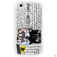 5Sos, 5 Seconds Of Summer Art For iPhone 6 / 6 Plus Case