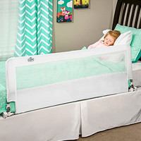 White Extra-Long Hideaway Bed Rail