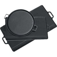 Texsport Cast Iron Griddle - 9-1/2-Inch x 20-Inch