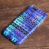 Nebula Aztec Stripes Tough iPhone XS Max SE Case Galaxy S8 plus S7 Edge Case 226
