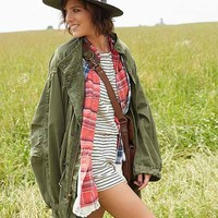Urban Renewal Unlined Fishtail Parka Jacket- Assorted