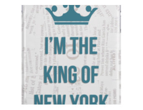 I'M THE KING OF NEW YORK iPhone Cases & Skins
