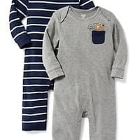 One-Piece 2-Pack for Baby|old-navy