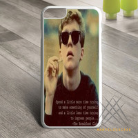 The Breakfast Club_Brian Quotes Custom case for iPhone, iPod and iPad