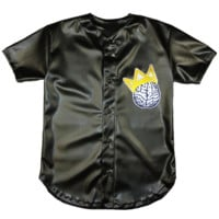 Clothes Minded Black Leather Jersey