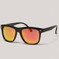 AEO Mirrored Icon Sunglasses | American Eagle Outfitters