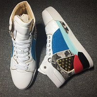 Christian Louboutin CL Style #2140 Sneakers Fashion Shoes Best Deal Online