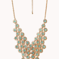 Delicate Faux Gemstone Necklace