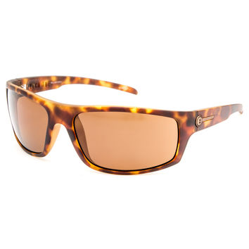 Electric Tech One Polarized Sunglasses Tortoise One Size For Men 27774640101