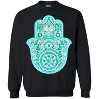 Adorable Turquoise Hamsa Hand Necklace 2017 T Shirt