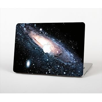 """The Swirling Glowing Starry Galaxy Skin Set for the Apple MacBook Air 11"""""""