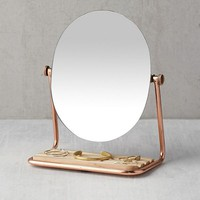 Elizabeth Tabletop Storage Mirror | Urban Outfitters