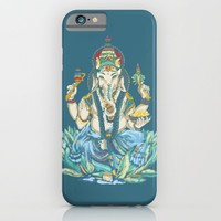 Ganesh  iPhone & iPod Case by Kristy Patterson Design
