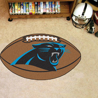 "NFL - Carolina Panthers Football Rug 22""x35"""