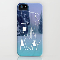Let's Run Away: Rainier National Forest, Oregon iPhone Case | Print Shop