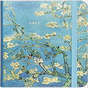 2022 Almond Blossom Weekly Planner (16-Month Engagement Calendar) ( Weekly Planner )