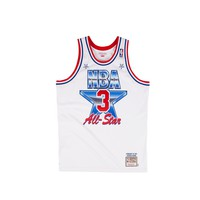 Mitchell & Ness Men's Patrick Ewing Authentic Jersey- White