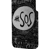 Best 3D Full Wrap Phone Case - Hard (PC) Cover with 5 Seconds of Summer 5SOS Quotes Design