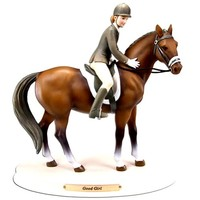 The Trail of Painted Ponies Good Girl Horse Whispers Figurine