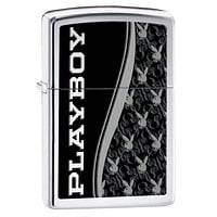 Zippo Playboy High Polish Chrome Lighter