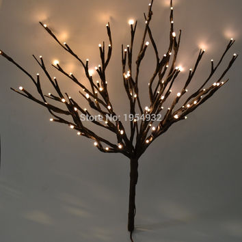 "LED Battery Branch Light 20"" 100LED Christmas branch light wedding table decoration branch twig light"