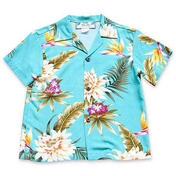 mountain hawaiian boy shirt