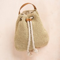 Isla Straw Backpack