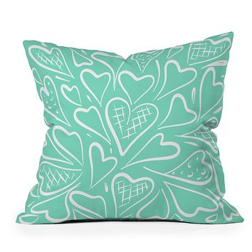 Lisa Argyropoulos Love is in the Air Throw Pillow
