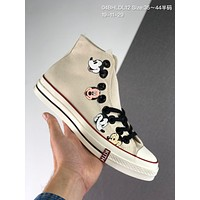 Converse x Kith x Disney cheap mens and womens Fashion Canvas Flats Sneakers Sport Shoes