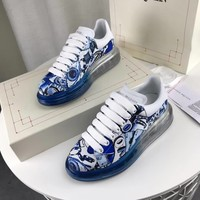 Alexander Mcqueen Graffiti Oversized Sneakers With Air Cushion Sole Reference #20 - Best Online Sale