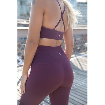 Self Love Seamless Legging Wine